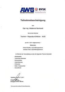 Reparatur-AUDI