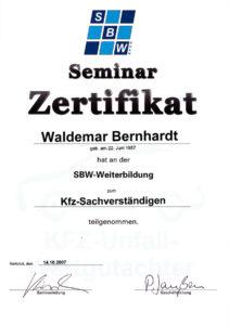 Weiterbildung-Kfz-SV