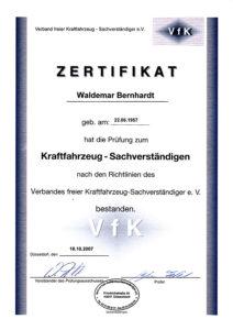 Zert-VfK
