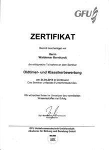 Zertifikat-Oldtimer-GFU